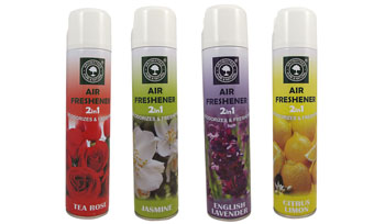 2 IN 1 AIR FRESHENER SPRAY
