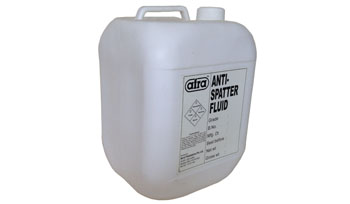 Anti spatter fluid