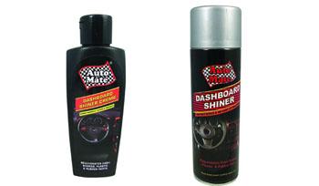 Dashboard shiner spray & Creme