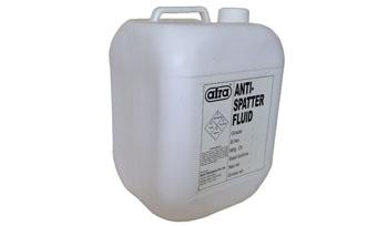 Anti spatter fluid
