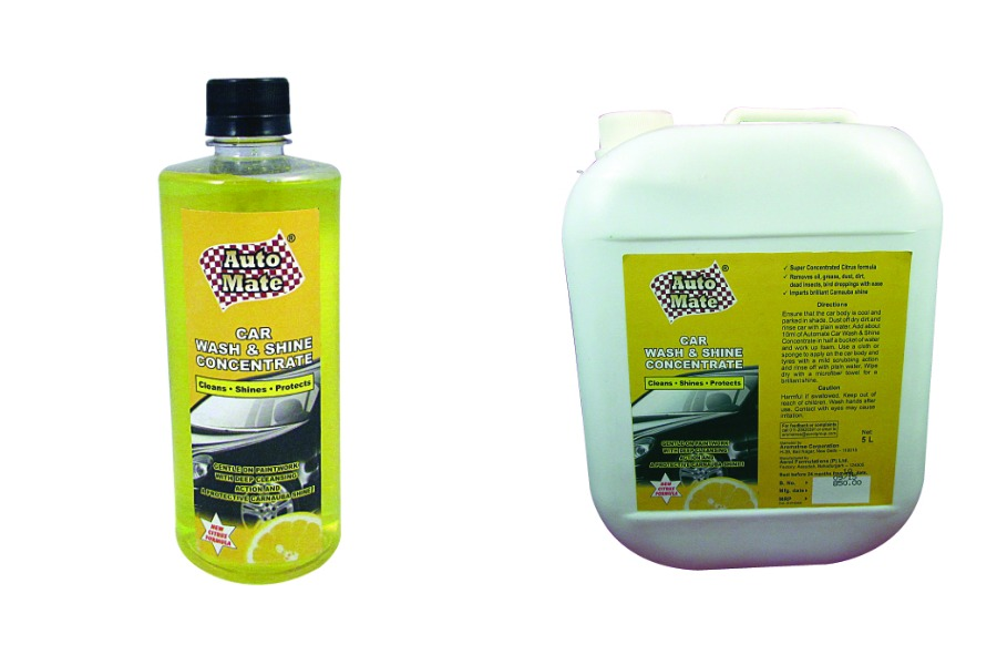 CAR WASH & SHINE CONCENTRATE