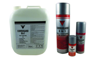 CORROGARD 6 IN 1, MULTI-FUNCTIONAL OIL SPRAY