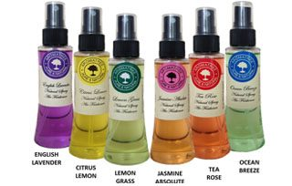 AROMATREE® NATURAL SPRAY AIR FRESHENERS