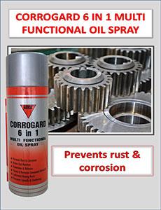 corrogard 6 in 1 oil spray